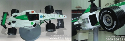 F1 racing car model for ICP Vietnam