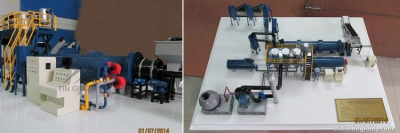 Factory Model: New Technology incinerator plant model
